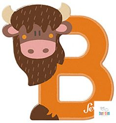 Sevi fa betű B-Bison