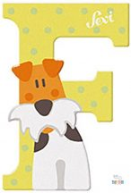 Sevi fa betű F-Fox Terrier
