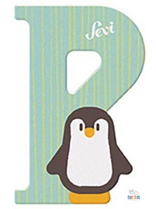 Sevi fa betű P-Penguin