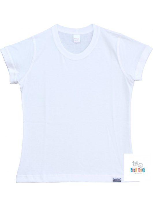 Pampress Lányka rövid ujjú póló (fehér-szűkített) RPPAM30114